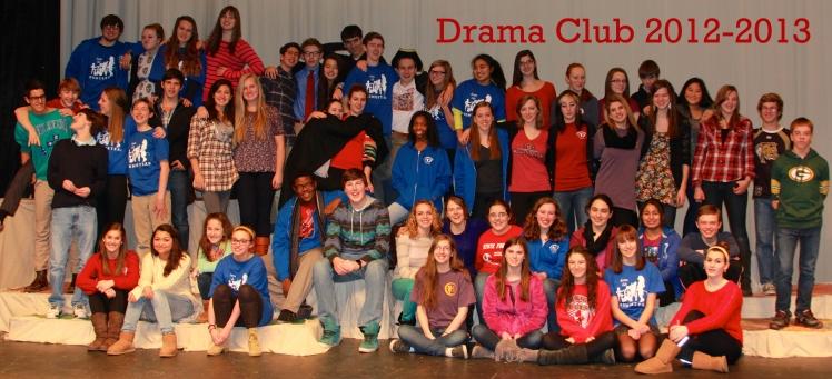 Drama Club 2012-2013