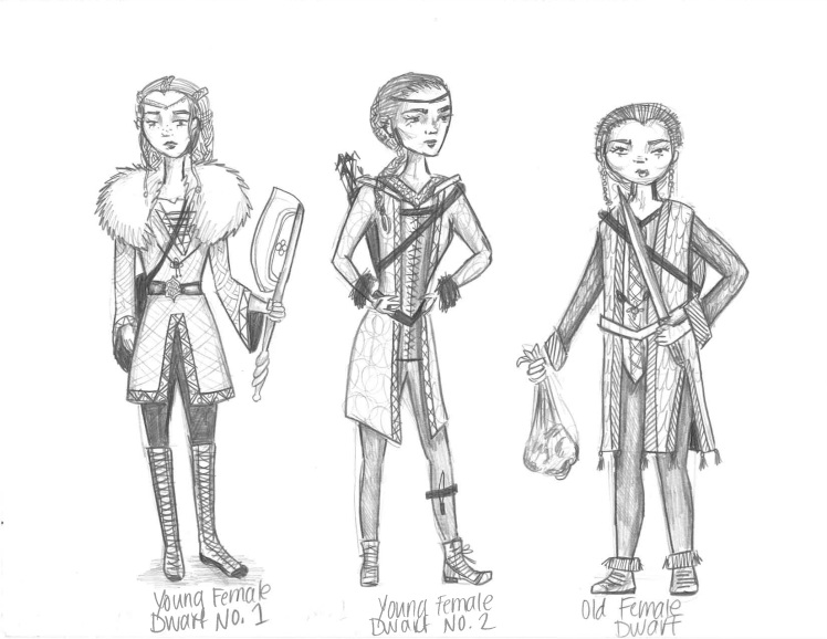 Female Dwarves