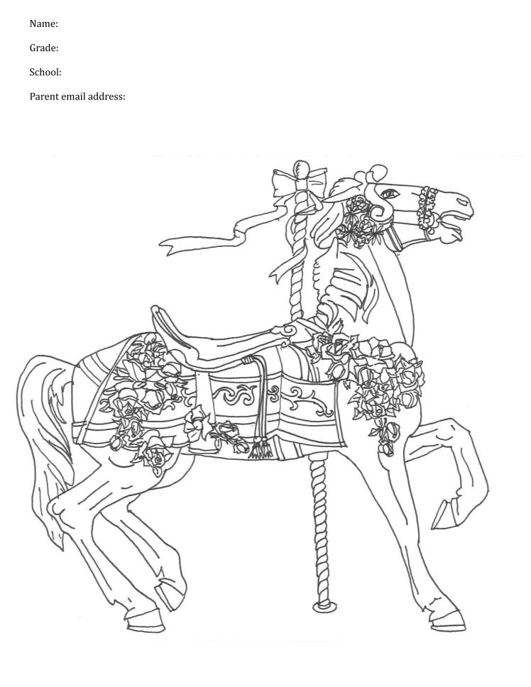 Thursday Folder Horse