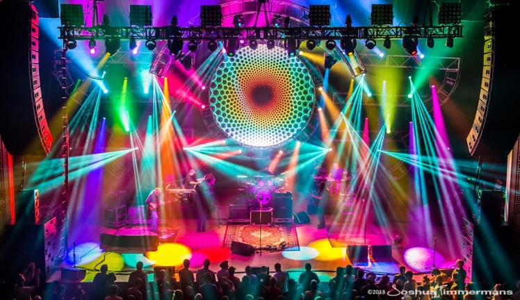 Widespread Panic. LD Paul Hoffman. Photo by Joshua Timmermans.