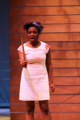 Danielle Goodman playing Romeo as she swears to avenge your friend's death