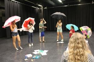 Rehearsing the Flower scene