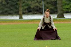 Maggie's last attempt at Sports... Victorian Baseball