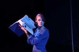 """Alex Gieske as Eurydice in """"Eurydice"""""""
