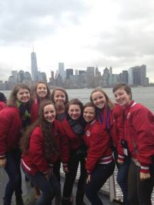 Trip to NYC to dance in the Macy's Thanksgiving Parade