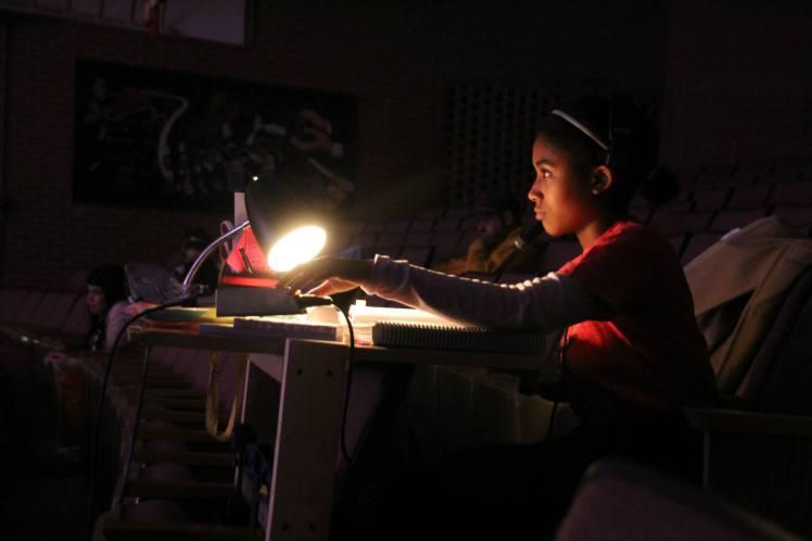Lonnae Hickman, our production script secretary.