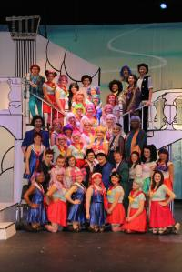 "The cast of ""The Mikado"""