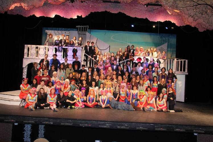 "Full Cast, Crew and Pit for ""The Mikado"""