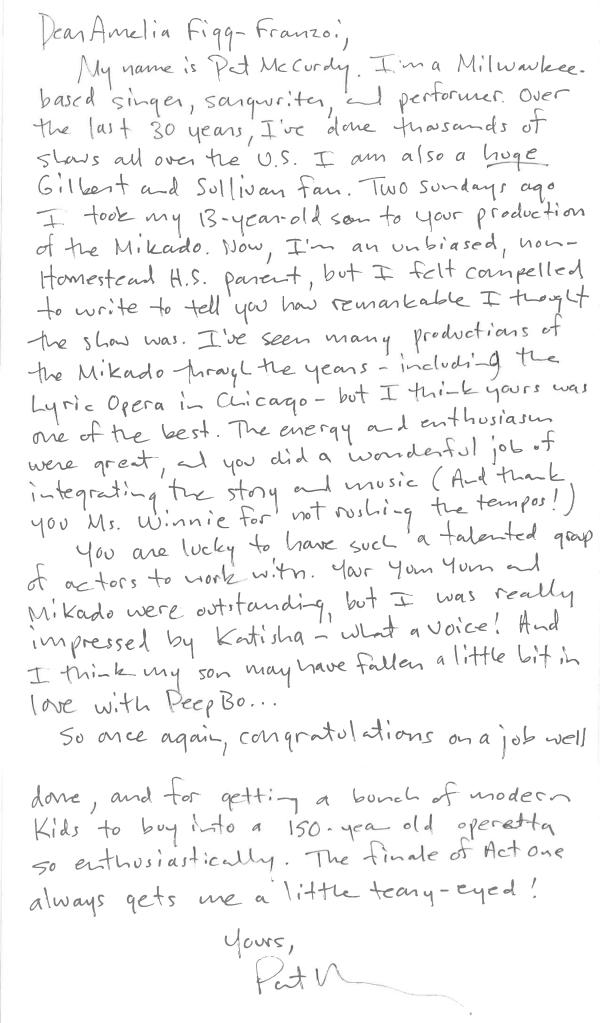 Amazing Letter