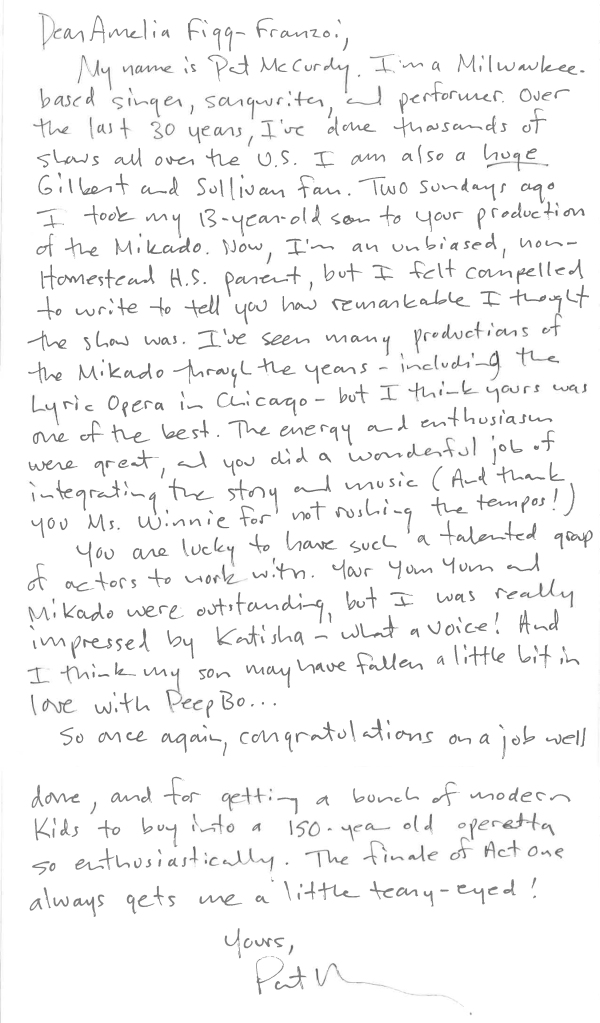 Amazing Letter