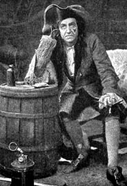 Gerald du Maurier as Captain Hook and Mr Darling