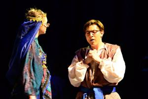 "Andrew Lococo in the Spring Show ""Arabian Nights"""