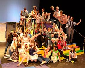 """The Cast and Crew of """"Arabian Nights"""".... Theatre Family"""