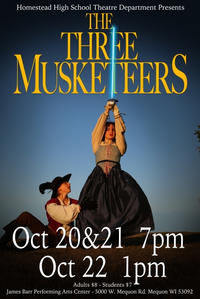 Musketeers Poster best