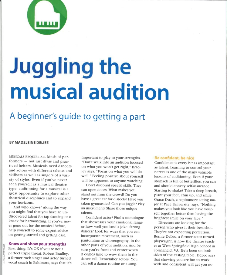 Musical Auditions-1